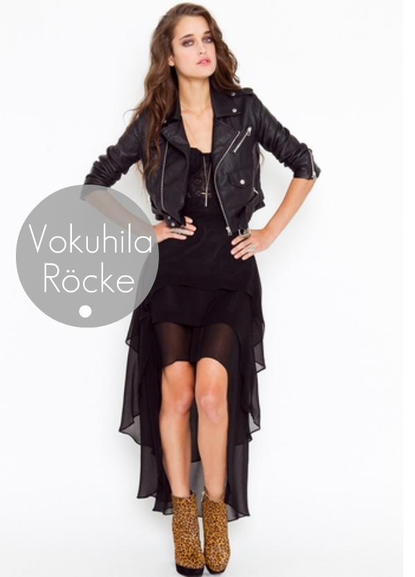 vokuhila asymmetrischer rock by nasty girl