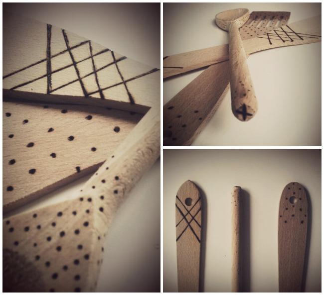 liebevolle kochl ffel aus holz diy holzbrennen oder holzmalerei zauberhafte modeblog. Black Bedroom Furniture Sets. Home Design Ideas